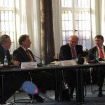Bundesbeautragter für den Datenschutz, Herr Peter Schaar und Rainer Appelt, Vorsitzender des BDIP