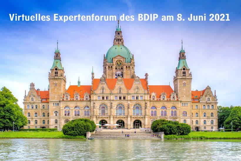 """Premiere:Erstes digitales Expertenforum des BDIP """"OZG: Der Countdown läuft"""" mit über 60 Teilnehmenden ein großer Erfolg!"""